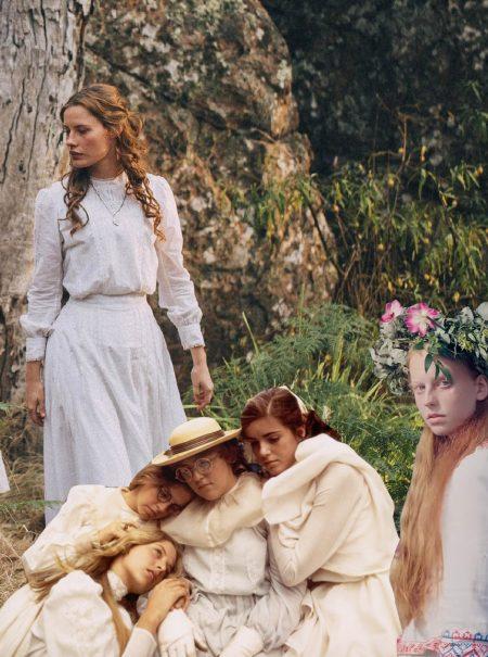 El poderoso doble sentido del vestido blanco de ninfa adolescente