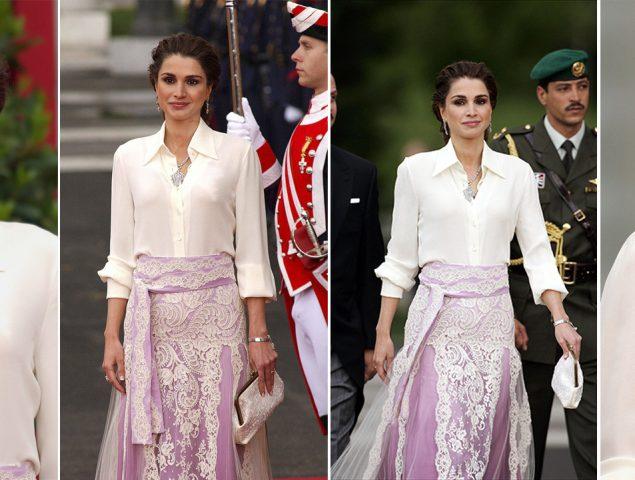 Aquel increíble Givenchy de Rania que volvió loco a medio mundo (y que hizo sombra al vestido de novia de Letizia)