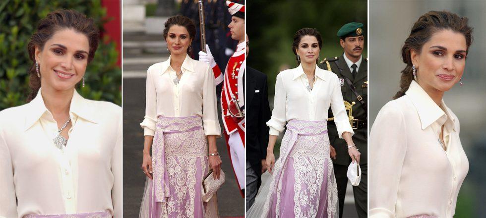 c92f8a673 Aquel increíble Givenchy de Rania que volvió loco a medio mundo (y que hizo  sombra