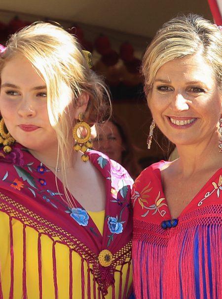 Así se confeccionó el vestido de flamenca de Máxima de Holanda: nos lo cuenta la mujer que lo hizo