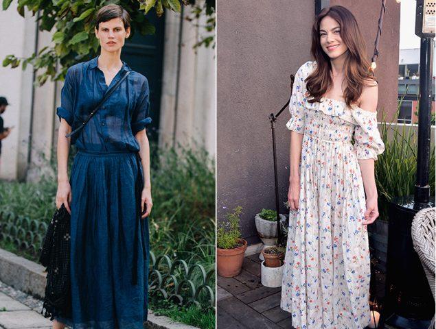 15 vestidos midi de aire retro que querrás llevarte de vacaciones