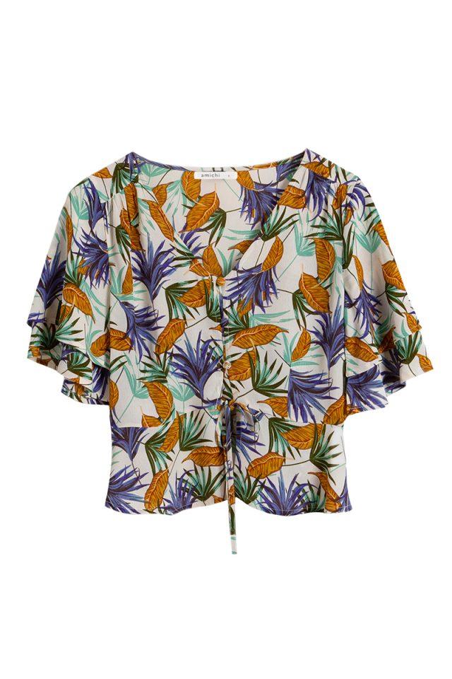 estampado tropical