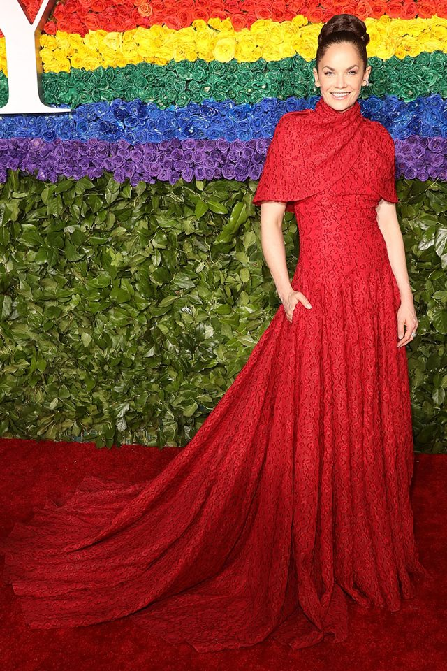 alfombra roja premios tony