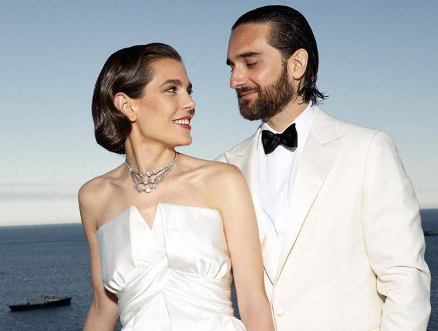 Así son los (espectaculares) vestidos de novia de Carlota Casiraghi