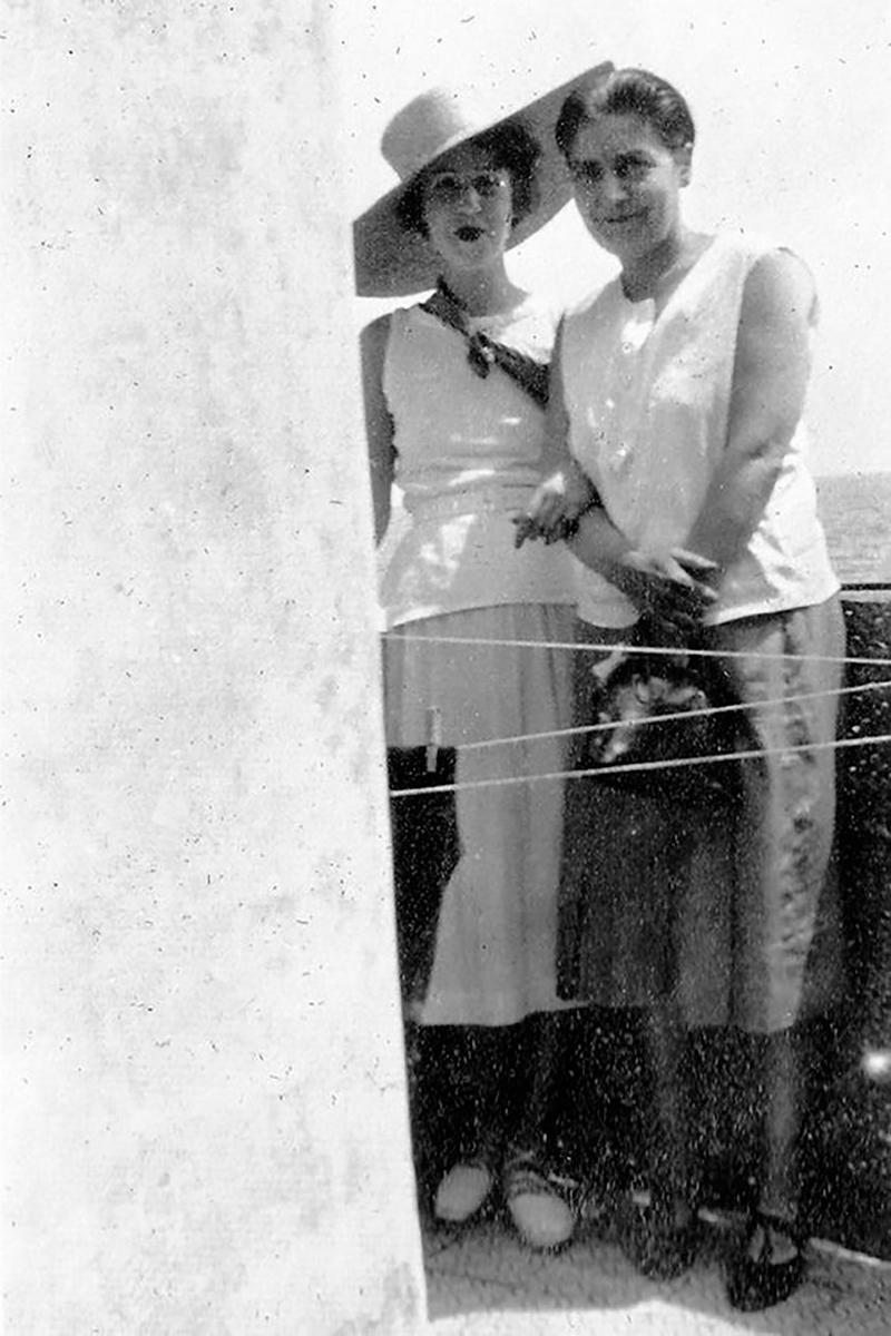 Madge Garland y Dorothy Todd