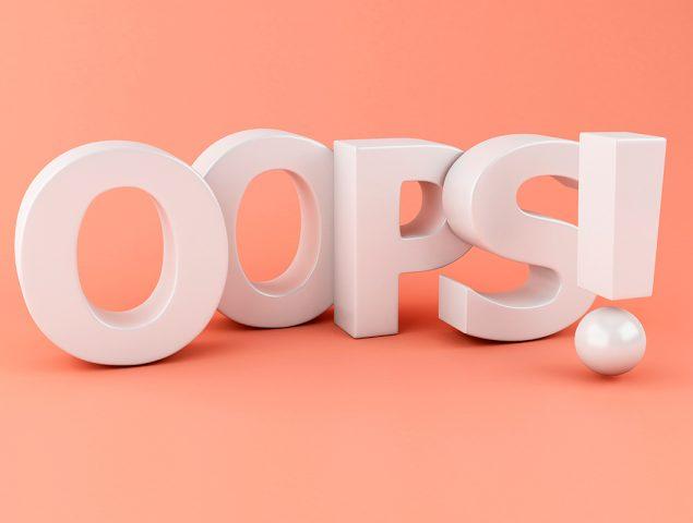 Cometer errores es mucho más útil de lo que parece