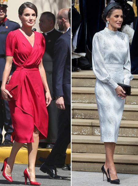 Bendecidas por Letizia: cómo elige la Reina las marcas que viste
