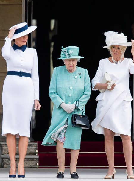Melania y su 'guerra diplomática' a la moda británica en su visita a Reino Unido