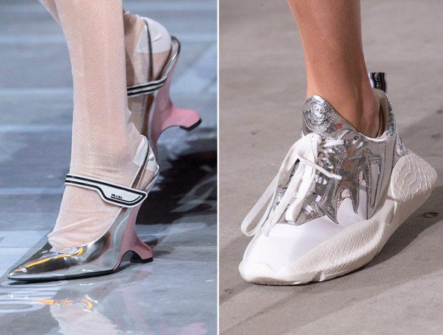 Las sandalias y los zapatos plateados, la tendencia del verano que combina con todo