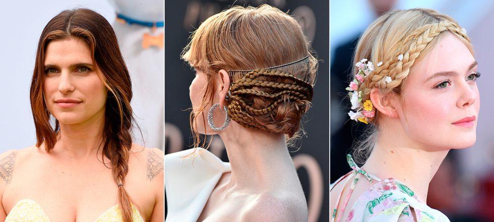Da igual el corte y color de pelo: se llevan las trenzas y son así de versátiles