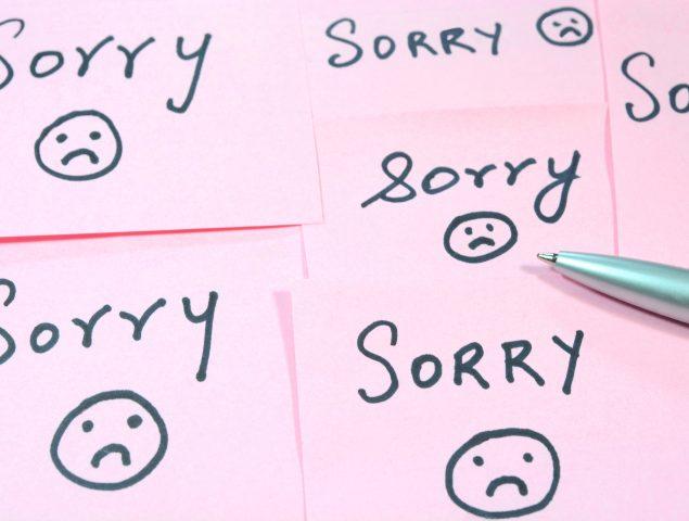 Por qué algunas personas son incapaces de disculparse (y qué hacer con ellas)