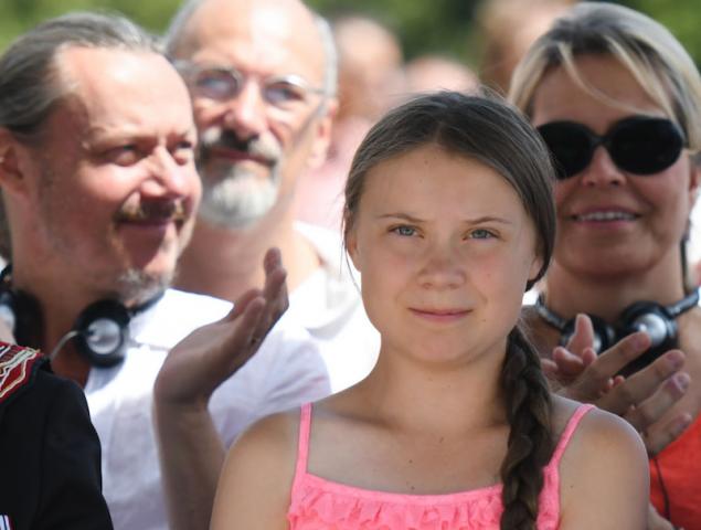 ¿Están los padres de Greta Thunberg detrás de su éxito como activista adolescente?