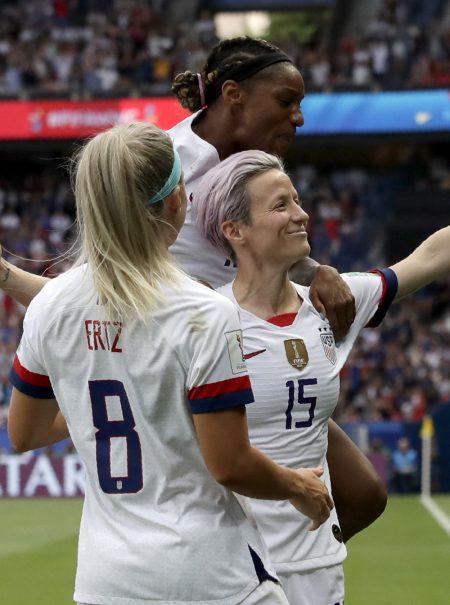 La camiseta que confirma el fenómeno: la selección femenina estadounidense bate récord de ventas en Nike