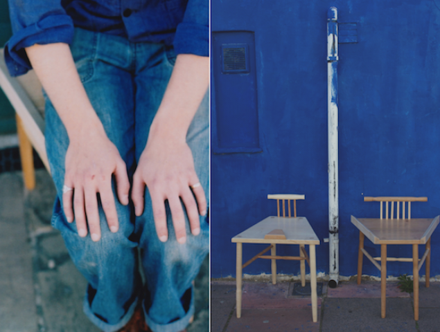 Cómo esta estudiante de 23 años pretende combatir el 'despatarre' masculino con una silla