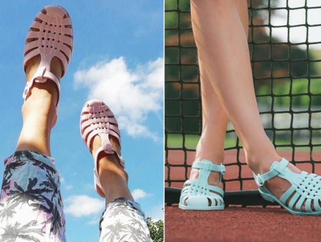b46314d0cb Las cangrejeras: el nostálgico objeto que pasó de calzado de verano a pieza  de lujo
