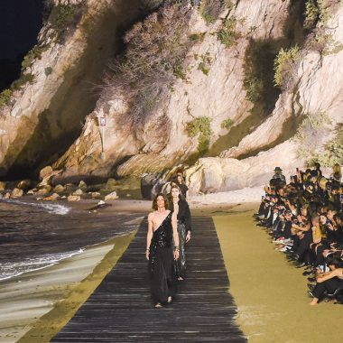 desfile saint laurent malibu