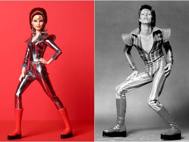 Barbie se convierte en Ziggy Stardust, el extraterrestre andrógino de David Bowie