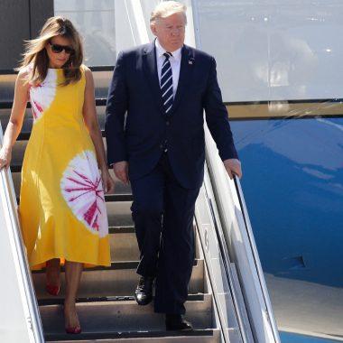 melania Trump g7