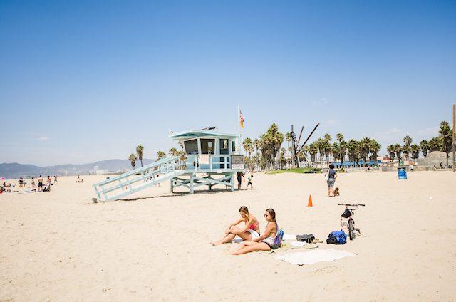 topless beach