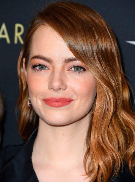 Emma Stone, irreconocible tras su transformación para ser Cruella de Vil