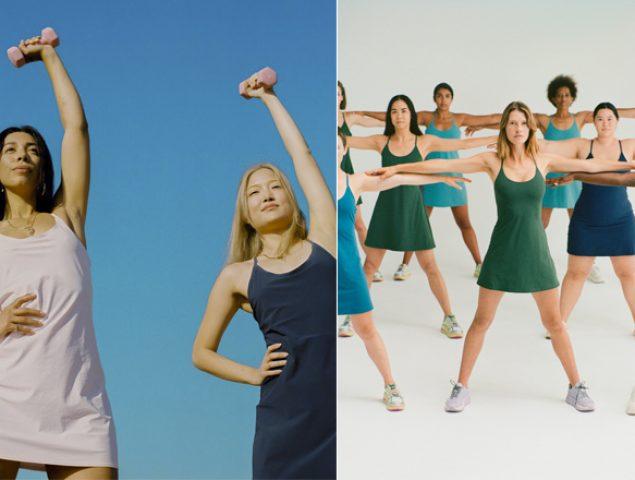 Adiós leggings, el vestido estrella del verano quiere revolucionar los gimnasios