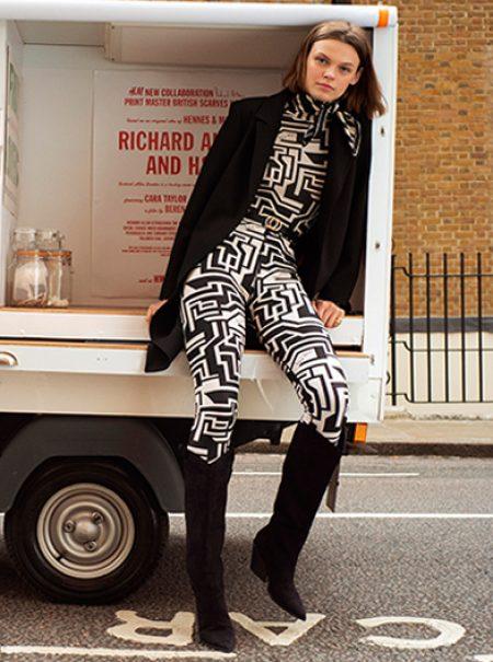 H&M colabora con el diseñador de pañuelos que arrasó en los 60