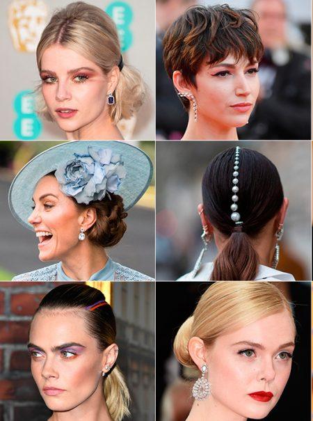 La coleta baja pulida y otros 30 peinados infalibles para cualquier invitada de boda