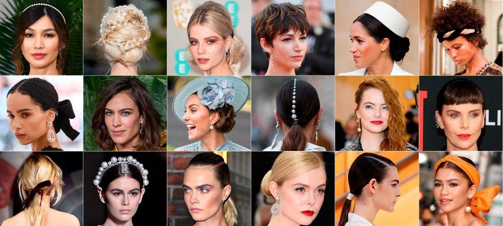 Perlas, lazos o rizos: 31 peinados infalibles para cualquier invitada de boda
