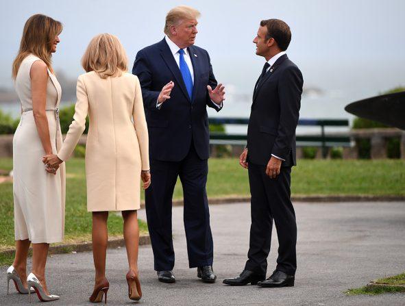 Melania Trump louboutin