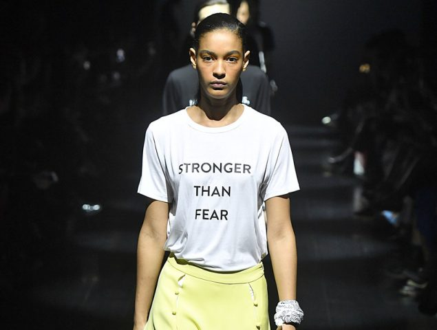 Trump hace peligrar la semana de la moda de Nueva York