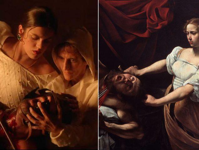 Amaia recrea el mito de Judith y decapita a un hombre en su nuevo videoclip