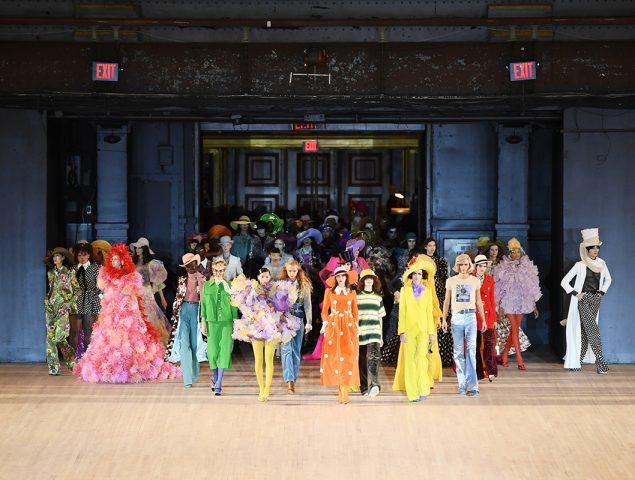 Explosión de color en la gran fiesta de Marc Jacobs
