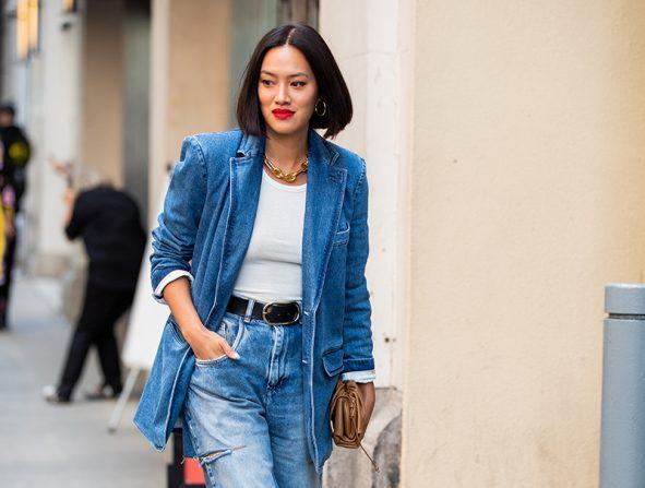 Estas Son Las Dos Reglas De Oro Para Que Unos Slouchy Jeans Te Queden Bien