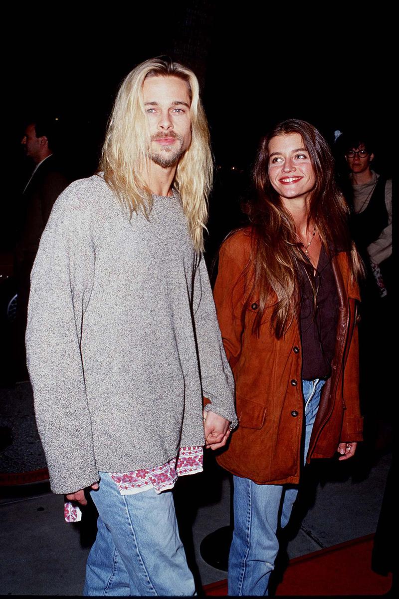 Brad Pitt y Jitka Pohledek