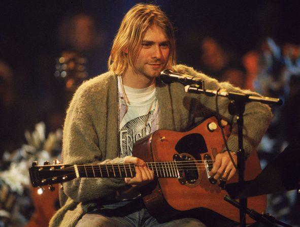 chaqueta unplugged kurt cobain