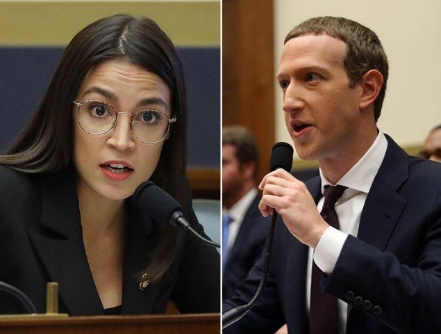 Ocasio-Cortez acorrala a Mark Zuckerberg en un interrogatorio de máxima tensión 'millennial'