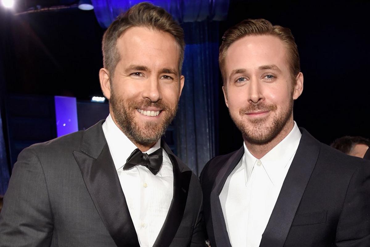 Ryan Gosling y Ryan Reynolds