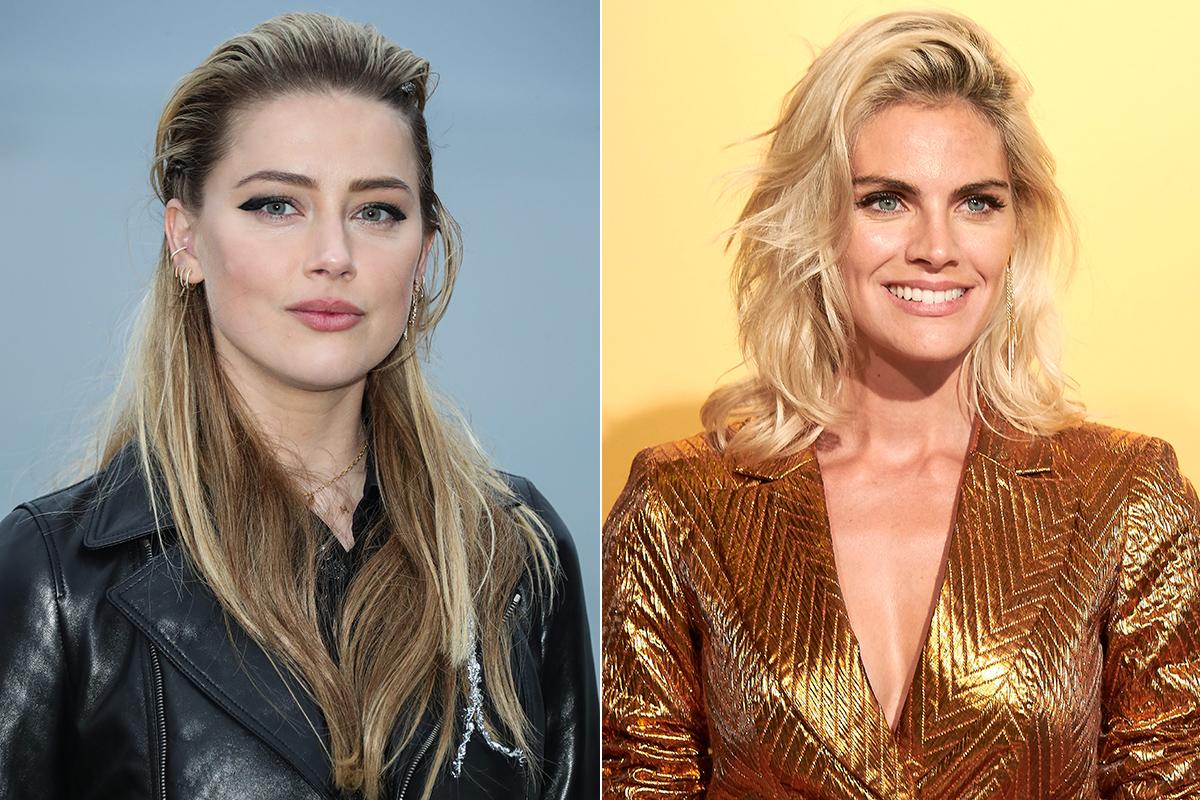 Amber Heard y Amaia Salamanca