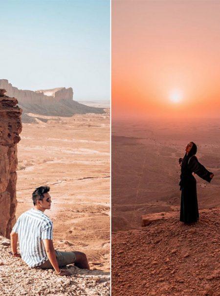 En Instagram no todo vale: duras críticas a 'influencers' por promocionar las 'maravillas' de Arabia Saudí