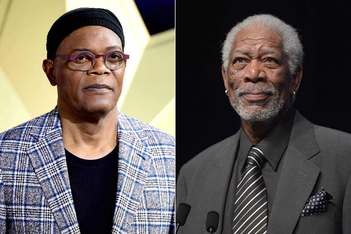 Samuel L Jackson y Morgan Freeman