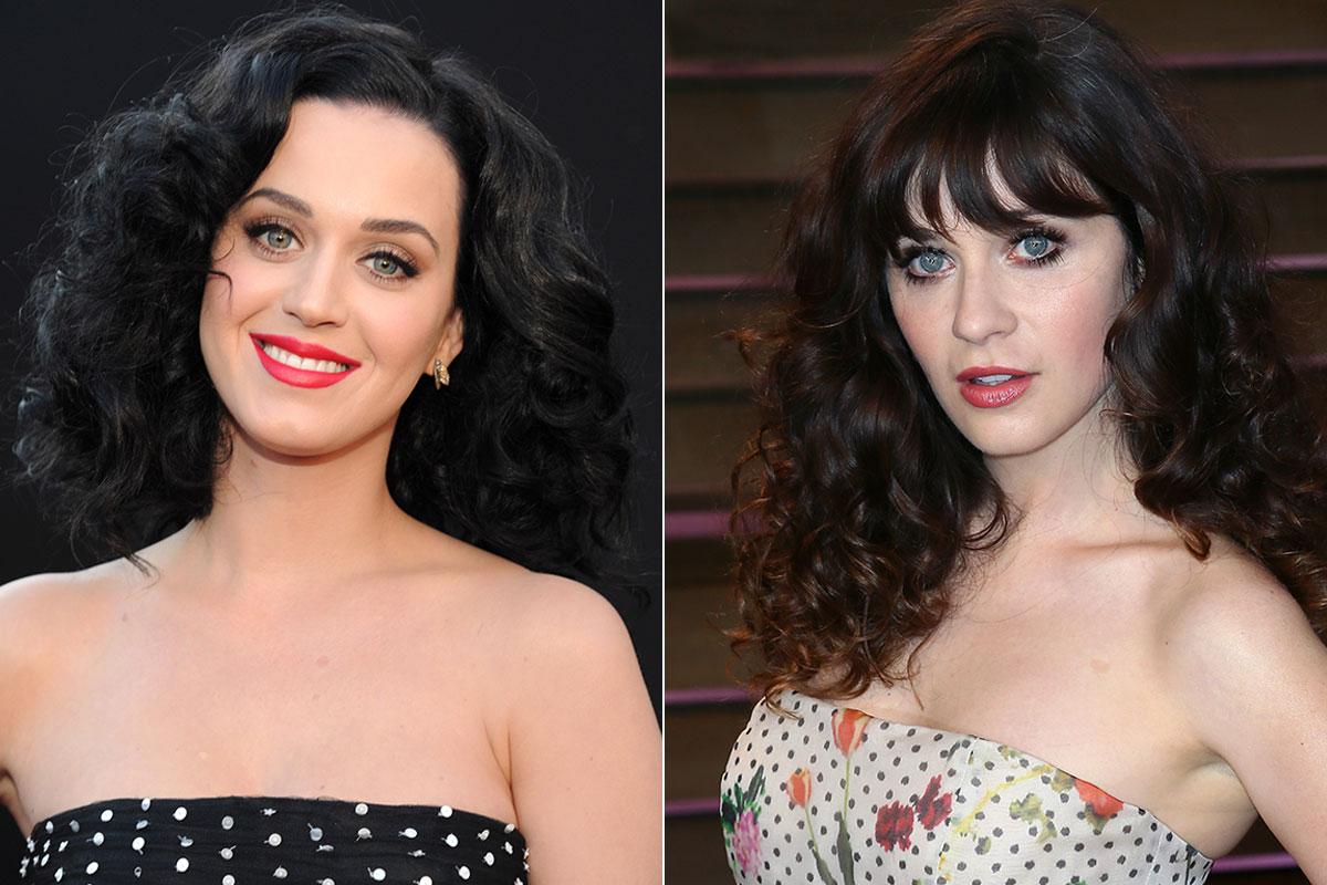 Katy Perry y Zooey Deschanel