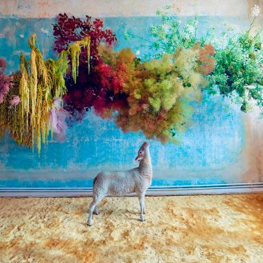 arte con flores