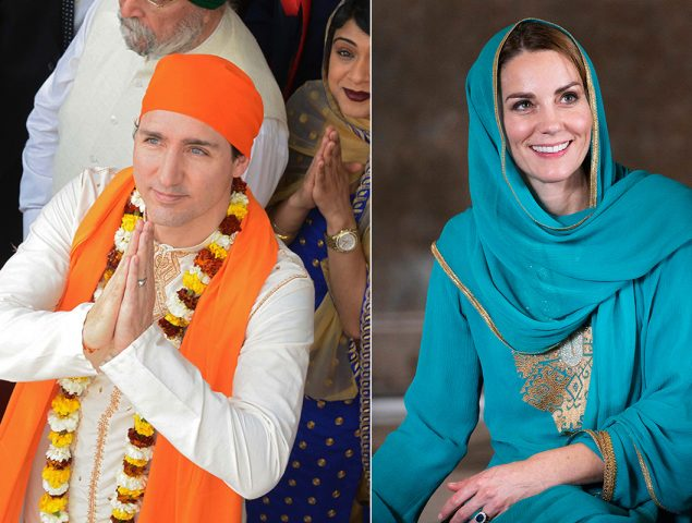 Justin Trudeau hizo el ridículo, Kate Middleton brilló: cuando la apropiación cultural es ofensiva