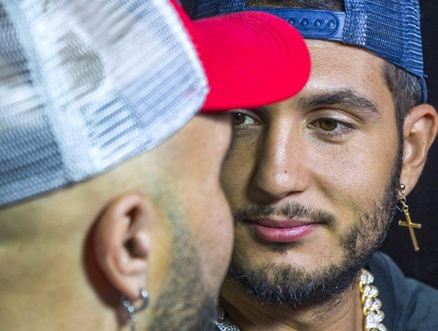 «Quítame la pulsera del tobillo»: el reguetonero Omar Montes se burla públicamente de las órdenes de alejamiento