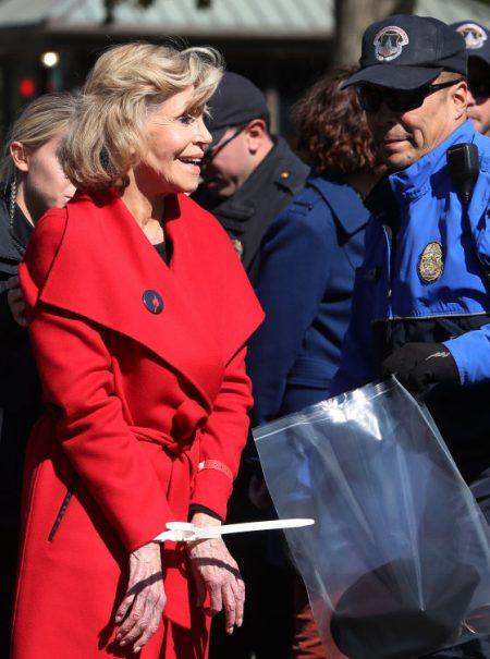 Este abrigo es la última prenda que Jane Fonda comprará en su vida