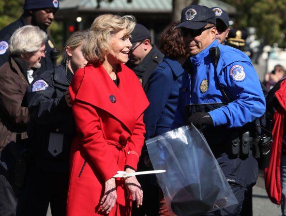abrigo Jane Fonda