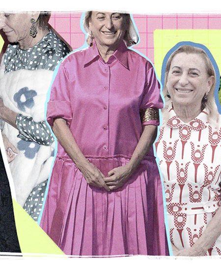 Lo que Miuccia se puso: el Instagram que analiza el estilo de la comunista que fundó el imperio de moda más importante del mundo