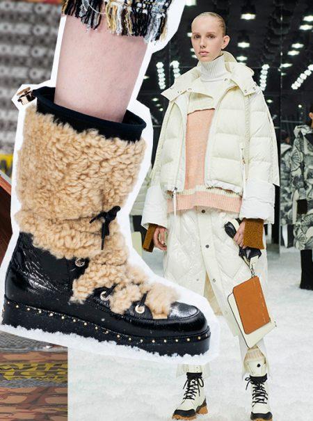 Las botas de montaña estilo Chiruca arrasan en el mundo del lujo