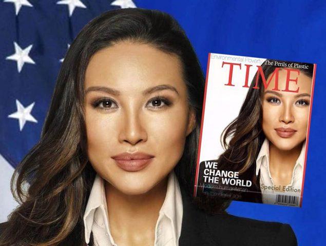Falsificó su cara en la portada de Time y consiguió un alto cargo con Trump: el escándalo de Mina Chang
