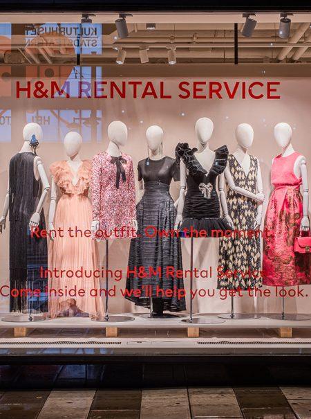 Ya se pueden alquilar los vestidos de fiesta de H&M